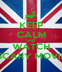 KEEP CALM AND WATCH SCARY MOVIE - Personalised Poster A1 size