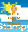 KEEP CALM AND Watch Stampy Cat - Personalised Poster A1 size