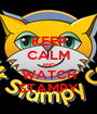 KEEP CALM AND WATCH STAMPY - Personalised Poster A1 size