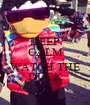 KEEP CALM AND WATCH THE DUCK - Personalised Poster A1 size