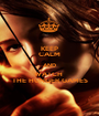 KEEP CALM AND WATCH  THE HUNGER GAMES - Personalised Poster A1 size