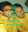 keep CALM AND we are  brother - Personalised Poster A1 size