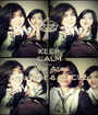 KEEP CALM AND We Are SiviaHolic & IFy Club - Personalised Poster A1 size