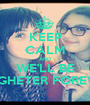 KEEP CALM AND WE'LL BE TOGHETER FOREVER - Personalised Poster A1 size