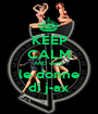 KEEP CALM AND we're le donne di j-ax - Personalised Poster A1 size