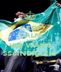 KEEP CALM AND WE WANT SS6INBRAZIL  - Personalised Poster A1 size