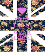 KEEP CALM AND WEAR FLORAL - Personalised Poster A1 size