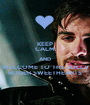 KEEP CALM AND WELCOME TO THE JOLLY ROGER SWEETHEARTS - Personalised Poster A1 size
