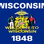 KEEP CALM AND WELCOME TO WISCONSIN - Personalised Poster A1 size