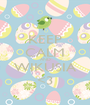 KEEP CALM AND WIKUSIA <3 - Personalised Poster A1 size