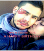 KEEP CALM AND wish 7abibi Joz A HAPPY BIRTHDAY - Personalised Poster A1 size