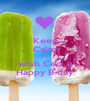 Keep Calm and wish Ceci a Happy B-day - Personalised Poster A1 size
