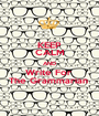 KEEP CALM AND Write For  The Grammarian  - Personalised Poster A1 size