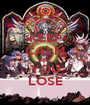 KEEP CALM AND YOU LOSE - Personalised Poster A1 size