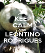 KEEP CALM ANDE LEONTINO RODRIGUES - Personalised Poster A1 size