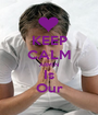 KEEP CALM ARMIN Is Our - Personalised Poster A1 size