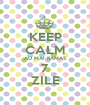 KEEP CALM AU MAI RAMAS 7 ZILE - Personalised Poster A1 size
