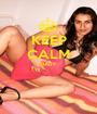 KEEP CALM BABY   - Personalised Poster A1 size