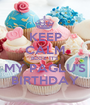 KEEP CALM BCOZ IT'S MY PAGLU'S BIRTHDAY - Personalised Poster A1 size