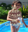 KEEP CALM because IM QIYAAM - Personalised Poster A1 size