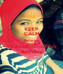 KEEP CALM Because  it's AyoOoOoOou's Birthday - Personalised Poster A1 size