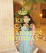 KEEP CALM BECAUSE IT'S MOREEN  BRITHDAY  - Personalised Poster A1 size