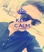 KEEP CALM Because Its My Birtthday - Personalised Poster A1 size