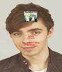 KEEP CALM because NATHAN SYKES  IS HERE - Personalised Poster A1 size