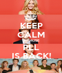 KEEP CALM BECAUSE PLL IS BACK! - Personalised Poster A1 size