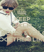 KEEP CALM BECAUSE WE ARE NEVER EVER GETTING BAK TOGETHER, LIKE EVER - Personalised Poster A1 size