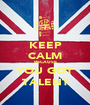 KEEP CALM BECAUSE YOU GOT TALENT - Personalised Poster A1 size