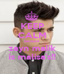 KEEP CALM because zayn malik is malisa's!! - Personalised Poster A1 size