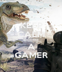 KEEP CALM BECOME A GAMER - Personalised Poster A1 size