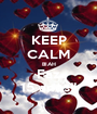 KEEP CALM BIAH Faz 15 anos!! - Personalised Poster A1 size
