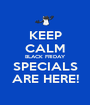 KEEP CALM BLACK FRIDAY SPECIALS ARE HERE! - Personalised Poster A1 size