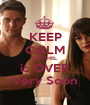 KEEP CALM BROCHEL is OVER Very Soon - Personalised Poster A1 size