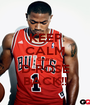 KEEP CALM Cause D-ROSE BACK!! - Personalised Poster A1 size