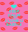 KEEP CALM CAUSE  I LOVE U BAE!!<3 - Personalised Poster A1 size