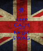 KEEP CALM 'cause Ive got SWAG - Personalised Poster A1 size
