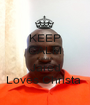 KEEP CALM Cause Jared Loves Christa  - Personalised Poster A1 size