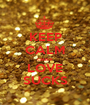 KEEP CALM cause LOVE SUCKS - Personalised Poster A1 size