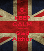 KEEP CALM Cause me Glad Atthur - Personalised Poster A1 size