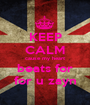 KEEP CALM cause my heart beats for for u zayn - Personalised Poster A1 size