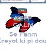 KEEP CALM cause Se Fanm Kreyol ki pi dous - Personalised Poster A1 size