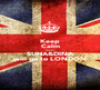 Keep Calm cause SUHA&DINA will go to LONDON - Personalised Poster A1 size