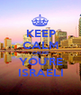 KEEP CALM CAUSE YOU'RE ISRAELI - Personalised Poster A1 size