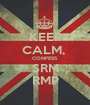 KEEP CALM,  CONFESS SRM RMP - Personalised Poster A1 size