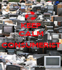 KEEP CALM  CONSUMERIST  - Personalised Poster A1 size