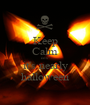 Keep Calm cos' it's nearly halloween - Personalised Poster A1 size