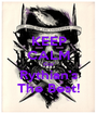 KEEP CALM Cos' Rythian's The Best! - Personalised Poster A1 size